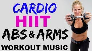 arms and abs upper body hiit cardio workout at home