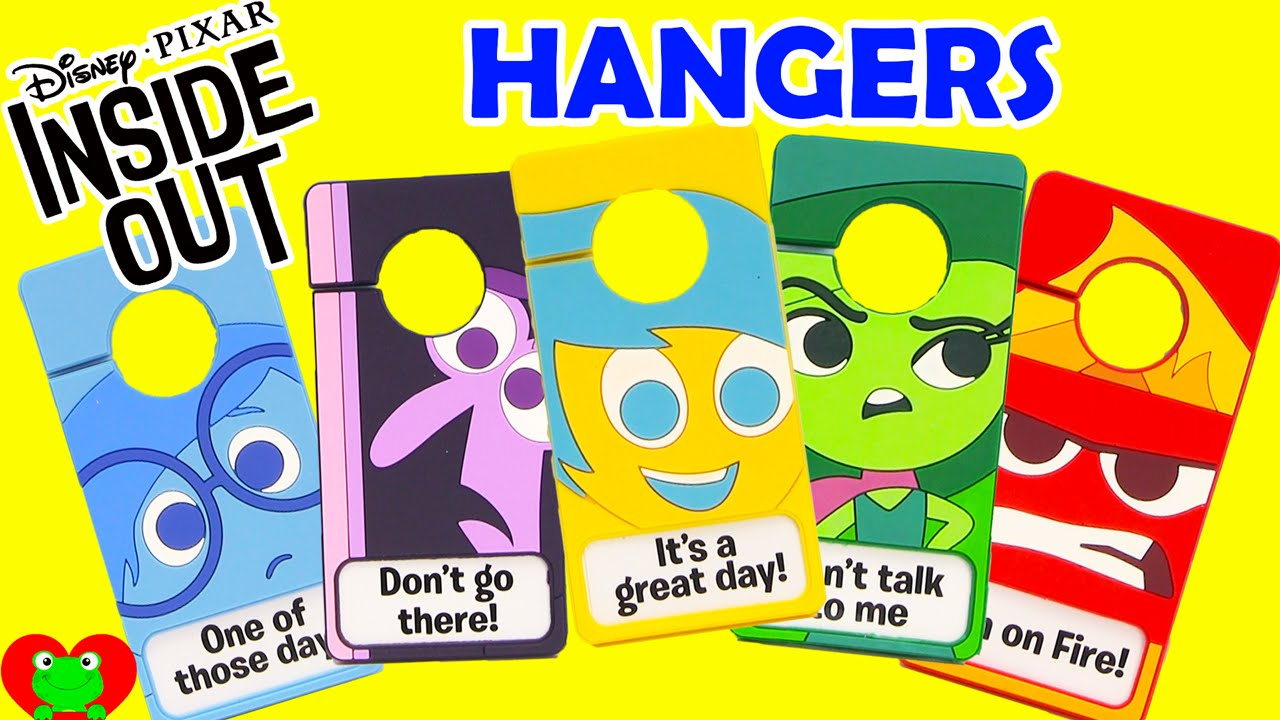 Door Hangers disney inside out emotions door hangers in blind bags - youtube
