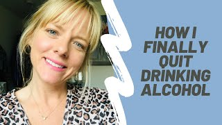 How I Finally Quit Drinking Alcohol | 2 Years Sober Thanks to The Sinclair Method