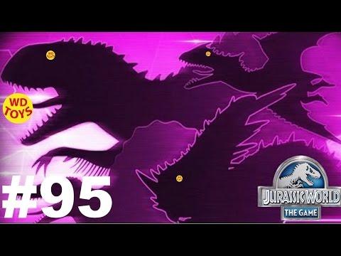 New Jurassic World The Game -  Episode 95 Amphibian Draft Battles  Vs Indominus Gameplay  WD Toys