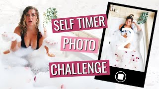 I Tried The Self Timer Photoshoot Challenge