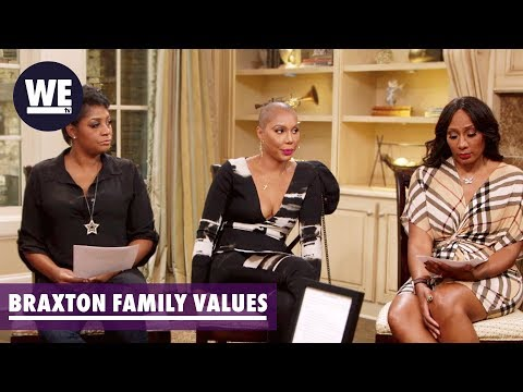 So You Weren't Telling the Truth | Braxton Family Values | WE tv
