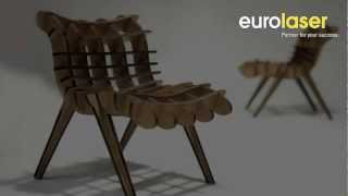 Laser Cutting Of MDF Furniture - Laserschneiden Von MDF-möbeln - Eurolaser