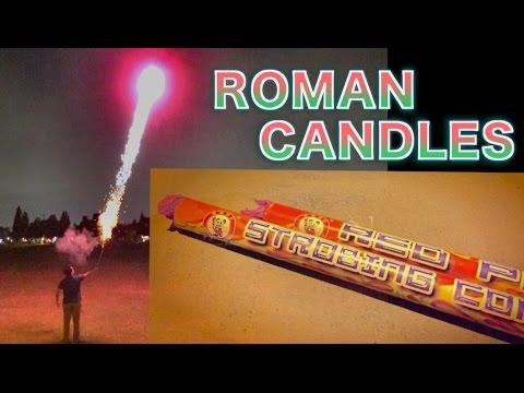 Roman Candle Fireworks