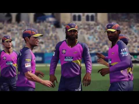 Don Bradman Cricket 14 - IPL Edition - Pune (RPS) vs Bangalore (RCB)