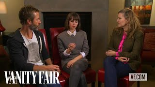 "Guy Pearce and Felicity Jones Talk to Vanity Fair's Krista Smith About the Movie ""Breathe In"""