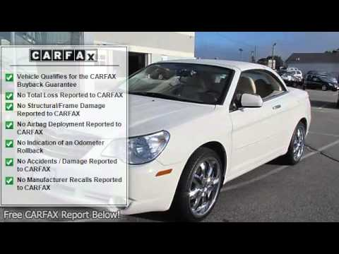 2008 Chrysler Sebring - My Whaling City Ford Lincoln Mazda - New London, CT 06320 - YA-4412