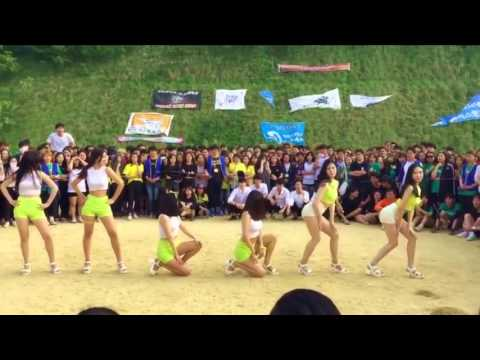 Korean Sexy Girl Twerking - Ain't a Party David Guetta (Cover Dance)