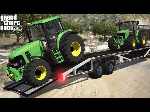 gta-5-real-life-mod-#216-delivering-john-deere-6230-farming-tractors-to-the-o'neil-ranch