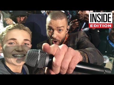 Meet 13-Year-Old Who Took a Selfie With Justin Timberlake During Halftime Show