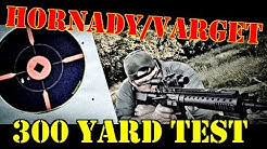 300 Yard Test:  Hornady 75gr 223 & Varget!! OH YEAH WE GOT THIS
