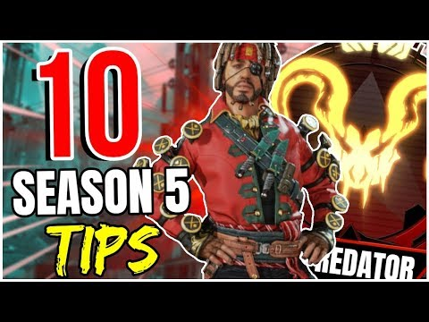10 SEASON 5 TIPS You NEED To KNOW To IMPROVE! - Apex Legends
