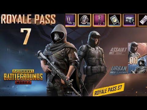 *Eksklusif* Season 7 Royal Pass Rewards PUBG Mobile