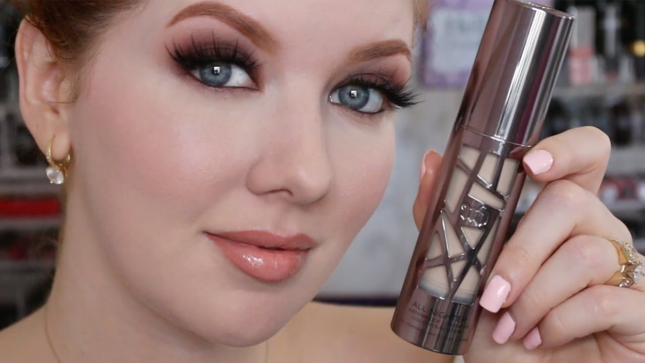 Foundation Wear Test Urban Decay All Nighter Foundation Youtube