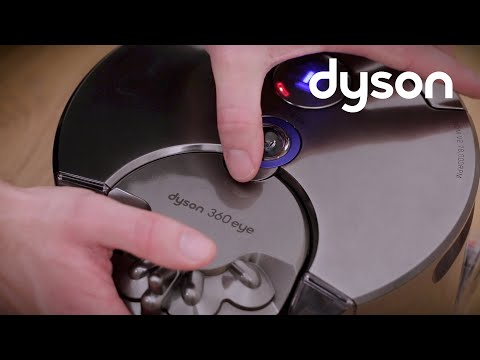 Dyson 360 Eye™ robot vacuum - 1 red fault light displayed (UK)