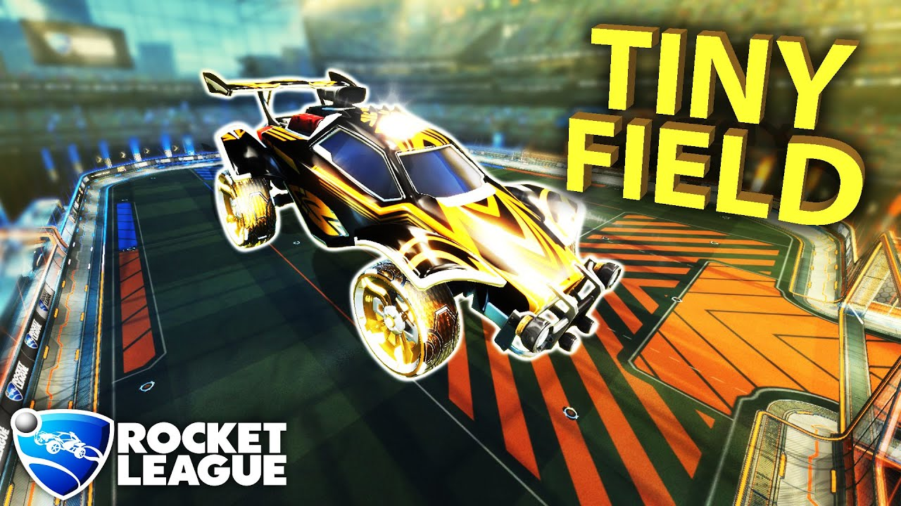 THEY SHRANK THE ROCKET LEAGUE FIELD! NEW SMALL FUTSAL MAP thumbnail
