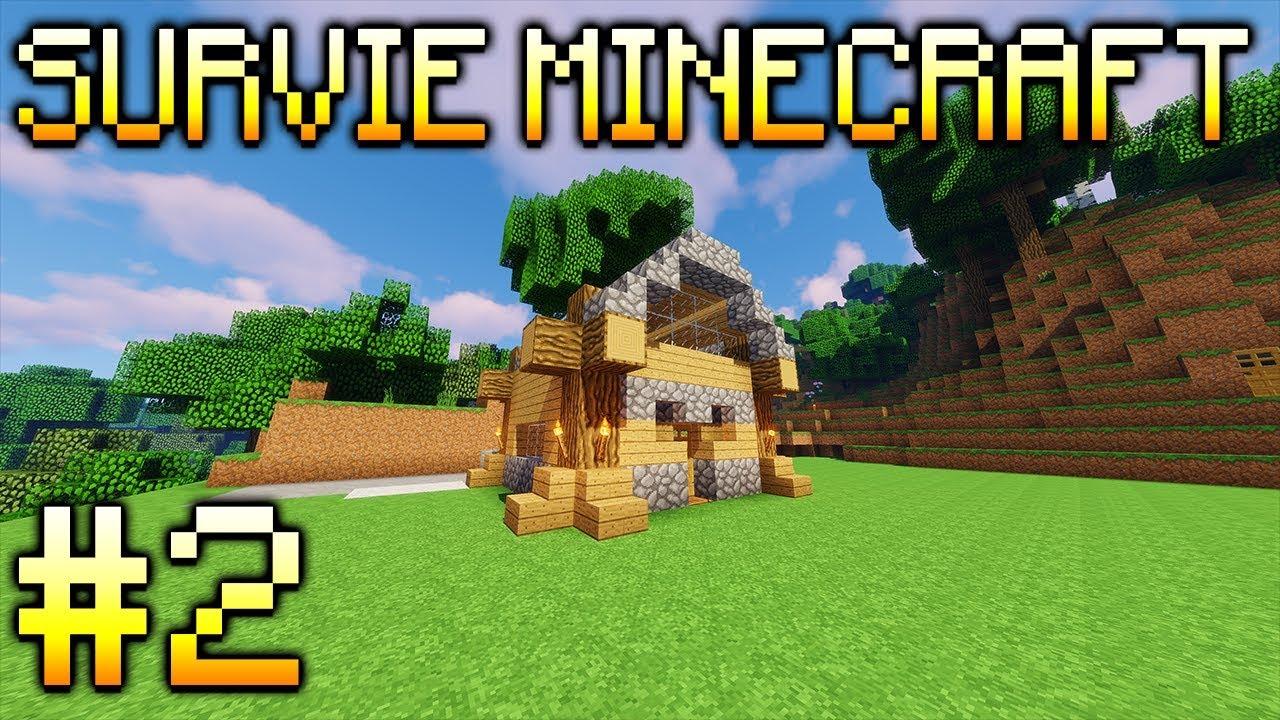 Minecraft Survie 2 Maison Agriculture Youtube