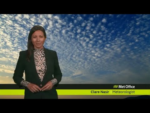 Thursday evening forecast 25/04/19