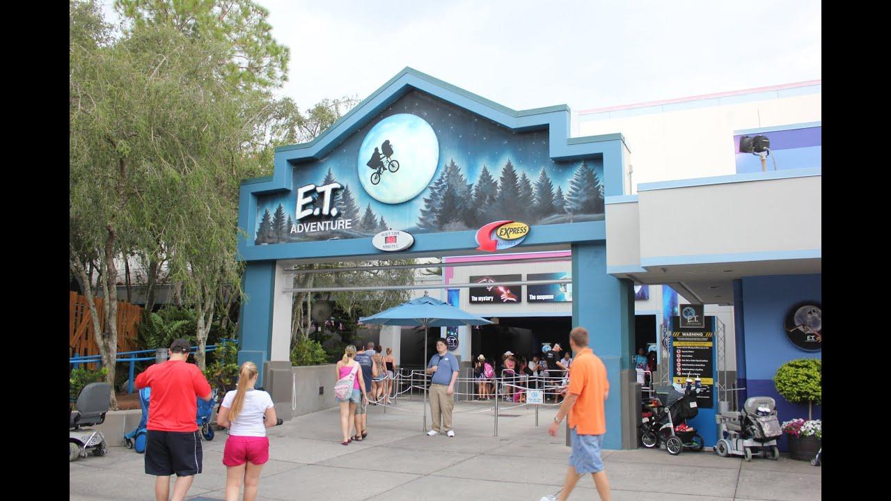 Hd Pov E T Adventure Ride Hd Pov Universal Studios