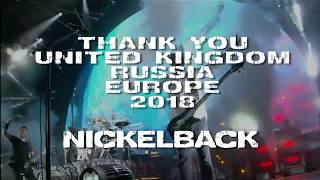 Nickelback - Feed The Machine Tour 2018 Wrap Up