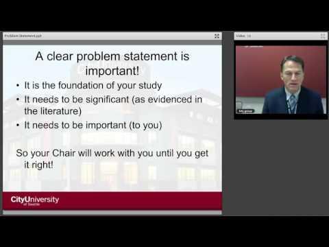 Problem Statement Presentation