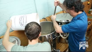 Watch What Happens When We Home Brewed Beer with 30 Gallons of Perrier [Full Version]