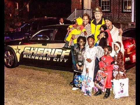 Sheriff C. T. Woody Jr's Pumpkin Patrol.