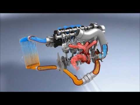 Gamma 1 6 Turbo GDI Engine