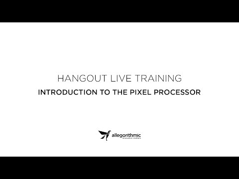 Live Training: Introduction to Pixel Processor