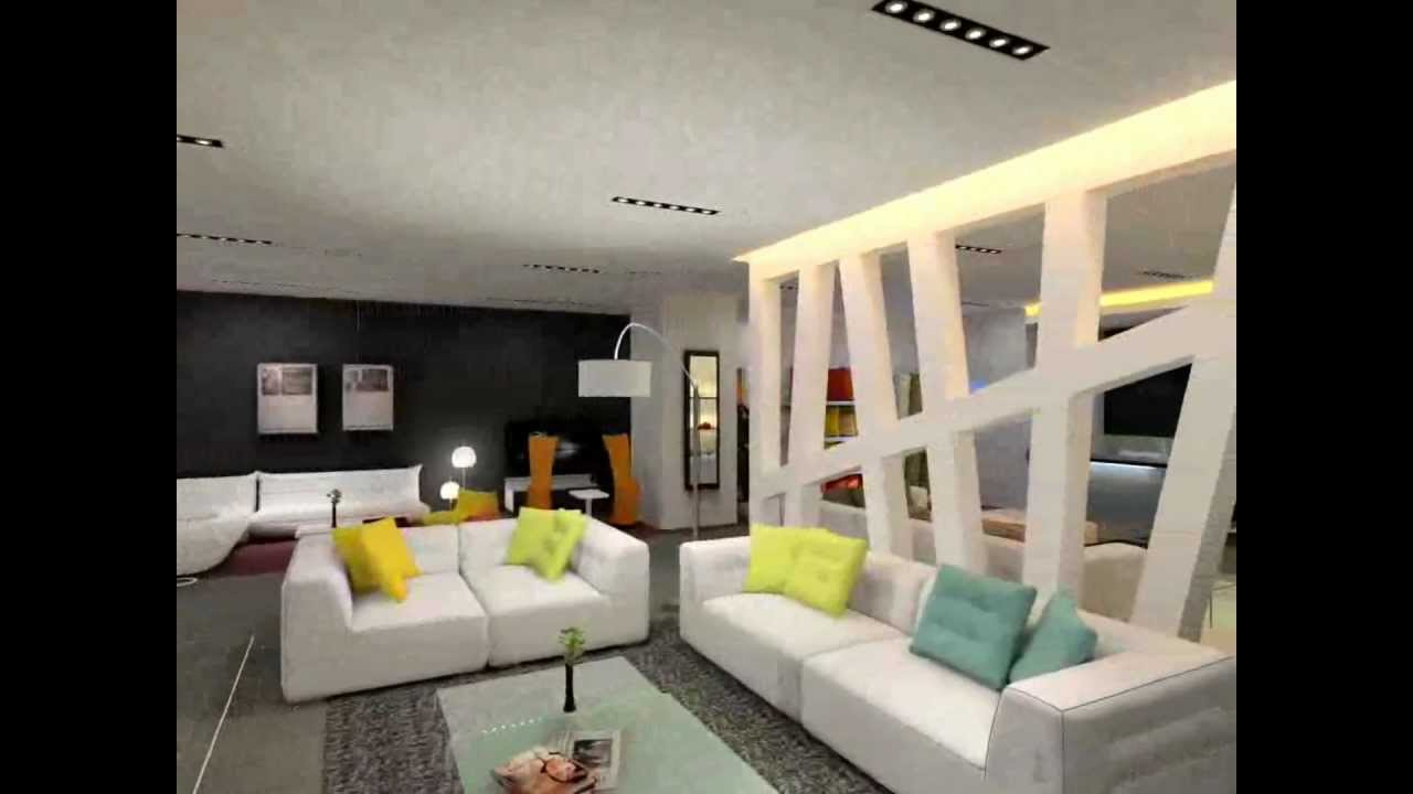 ligne roset amazing 3d interior design showroom made with intericad youtube - 3d Interior Designs
