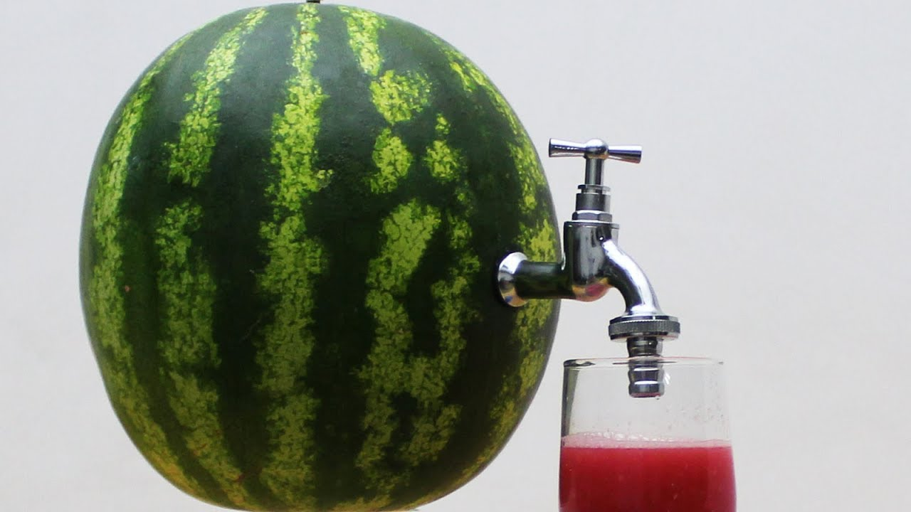 DIY Watermelon Juice - One of the Best Tutorial