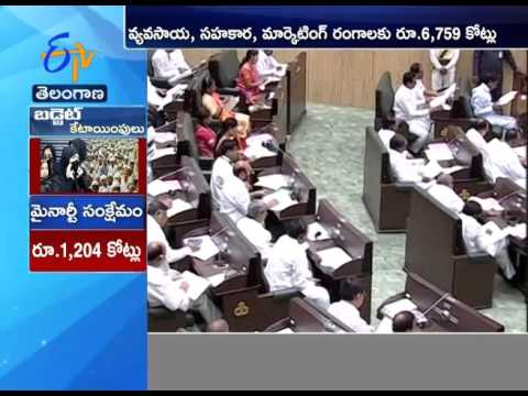 TS Budget 2016-17:  Rs 25000 Cr for irrigation sector