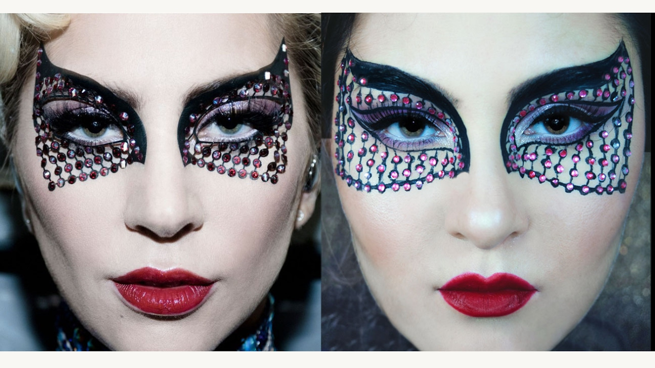 Lady Gaga Super Bowl 2017 Halftime Show Inspired Makeup