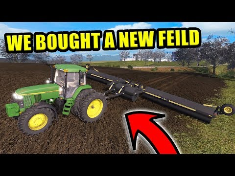 WE PURCHASED A NEW FIELD AND LAND ROLLER! | SATURDAY FARMING