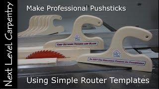 Make Professional Push Sticks for Workshop Safety