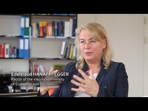 Prof. Edeltraud Hanappi-Egger about the architecture of Campus WU - Wirtschaftsuniversität Wien