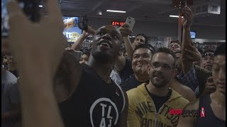 UFC 214: Cormier vs Jones 2 - Open Workout Recap