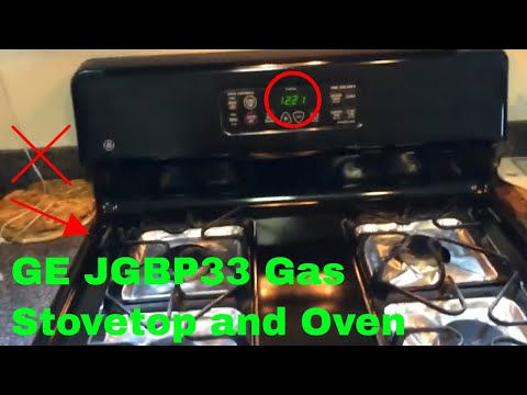 ✅  How To Use GE JGBP33 Gas Stovetop and Oven Review