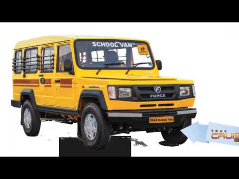 10 seater commercial passenger vehicle Force Motors Trax Cruiser/specs/price/detailed.