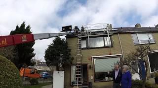Installatie van het 100.000ste zonnepaneel via SamenZonneEnergie