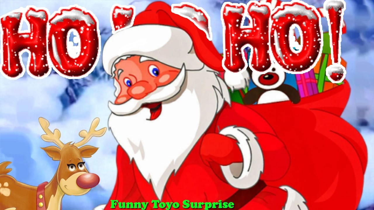 Show The Spirit of Christmas Songs Snow Jingle Bells Deck the Halls Santa Claus Animation ...