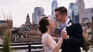 This Bride's Vows Will Leave You In Tears! | DanWestFilms