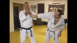 Tom Hill's Karate Dojo; Goju Kata Bunkai; Gekisai; end move