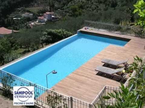 Piscine sanipool carasco youtube for Interrare piscina intex