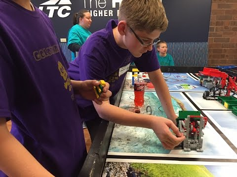 FIRST Lego League Tournament at Lakeshore Technical College 2015