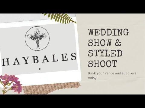 Haybales Barn Wedding Show & Styled Shoot