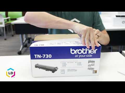 How to Install a Brother TN-730 Toner Cartridge