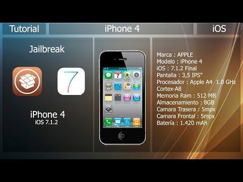 Jailbreak IOS 7.1.2 - IPhone 4
