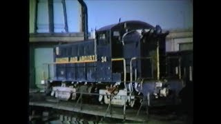 Vintage Bangor & Aroostook RR with Blues soundtrack