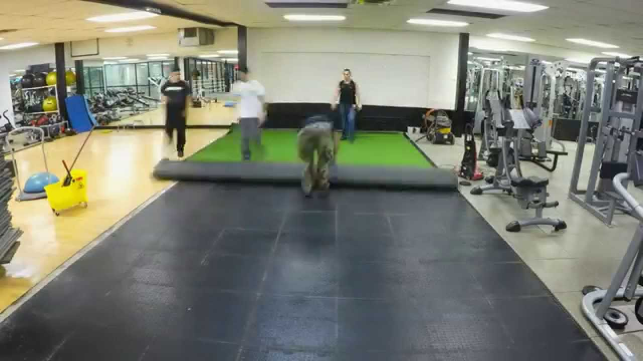The complex nyc new indoor turf d training area youtube